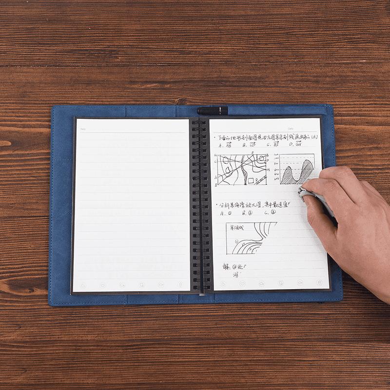 具有图文识别功能的书写智能笔记本