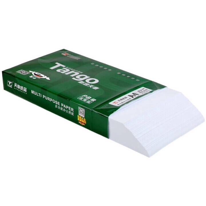天章(TANGO)新绿天章A4复印纸 70g 500张/包 5包/箱(共2500张)