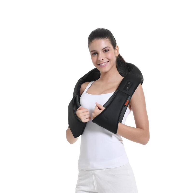 按摩披肩,解决颈肩背疲劳酸痛感